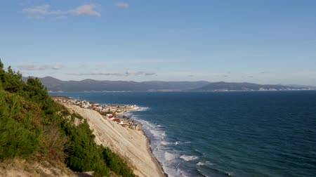 takımadalar : coast of the bay in Novorossiysk, the Black Sea