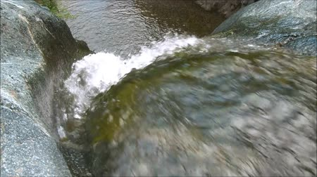 initial : the initial part of a waterfall Stock Footage