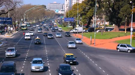 ciudad : Timelapse of traffic in Buenos Aires
