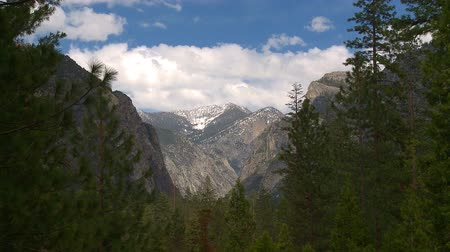 glacier point : yosemite mountain timelapse