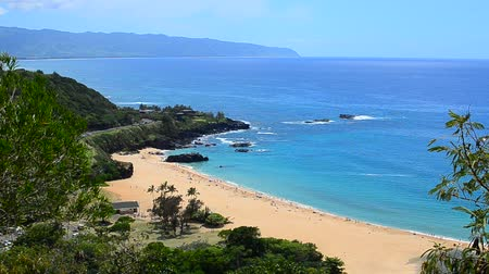 ostrovy : Waimea Bay On The North Shore of Oahu, Hawaii