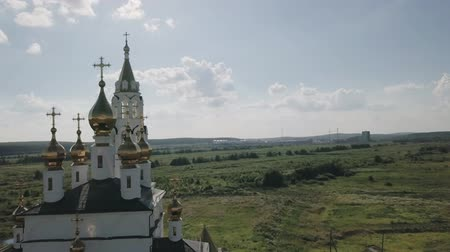 православие : Ekaterinburg. Annunciation Church of the Saints of Gods Builders. Academic district, From Dron