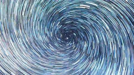 startrails : Stars draw a line in the sky. screw spiral. Night, Russia