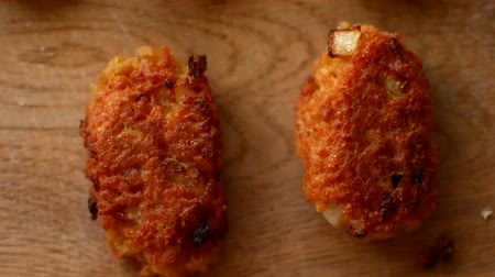 benzer : Cutlets from soy meat. Vegan concept. Without meat