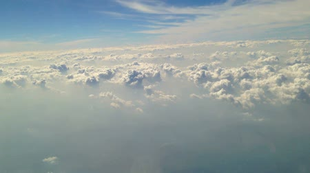 Sky view from inside the air plane