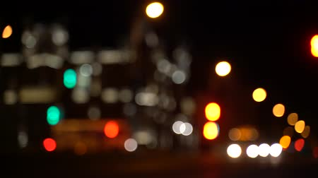 otoyol : blurred bokeh