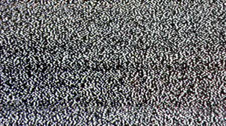 tv screen : Television static noise with audio Stock Footage
