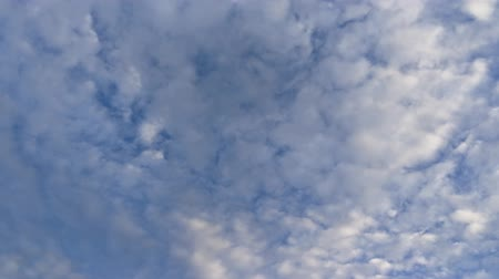 borultság : The cloud blue sky footage camera movement.