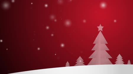 Финляндия : CG   Christmas snow  celebrations time footage background.