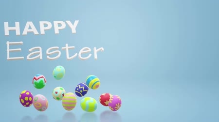 spring flowers : The Easter egg  3d rendering for holiday content.