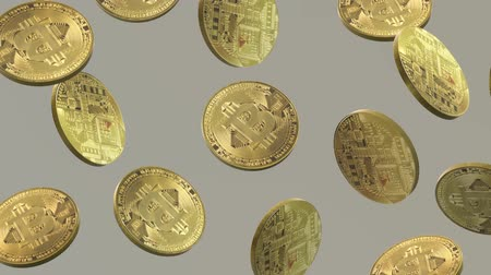 монета : The cryptocurrency bitcoin 3d rendering for business content.