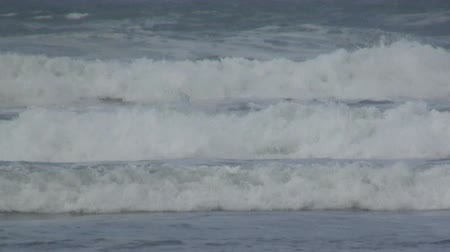 shoreline : Ocean waves Stock Footage