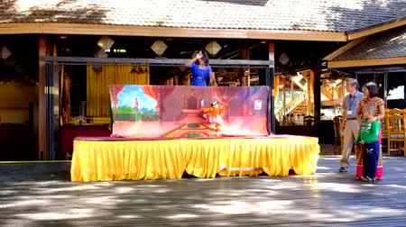 Бирма : Puppet show in Myanmar
