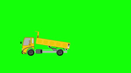 guba : Animation of dump truck