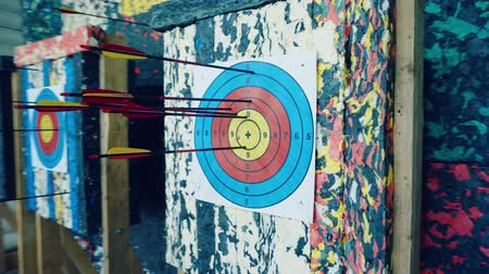 Arrows at the target