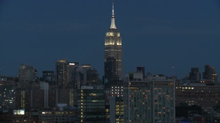 empire state building : L'Empire State Building la nuit