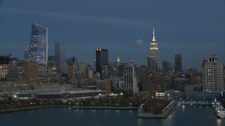 império : cityscape of New York at night,part 1