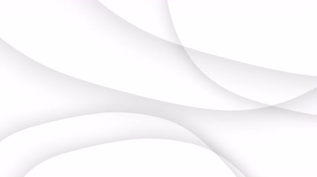 simple abstract white wavy trendy beautiful white curve background Stock Footage