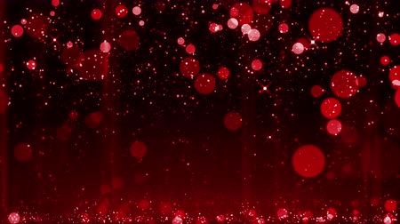 falling glitter abstract bokeh particle festive background happy new year, merry christmas style