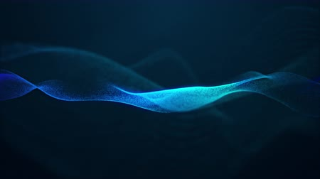 matriz : beautiful abstract wave technology digital network background with blue light digital effect corporate concept