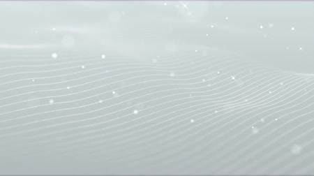 tecnológica : light white silver wave beautiful particle background business corporate digital wave shiny surface