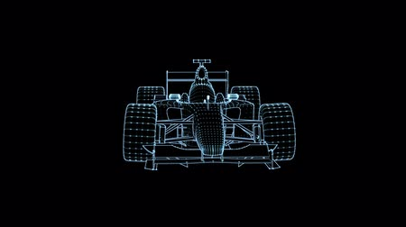 formuła : Formula One with Light effect on a black background