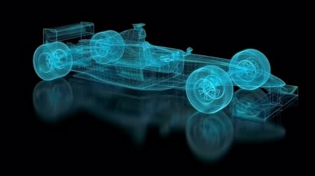 um : Formula One Mesh. Part of a series. Stock Footage
