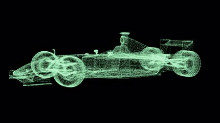 mecânica : Formula One Mesh. Part of a series. Stock Footage