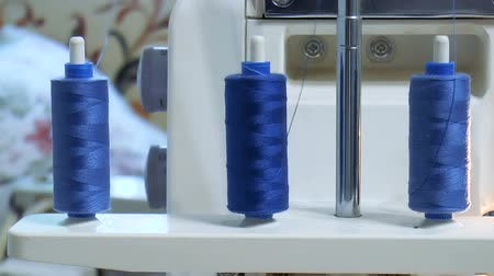 Video shows Threads on the sewing machine Wideo