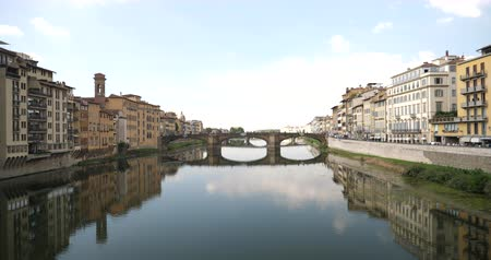 ROMANTIC BRIDGE FROM FLORENCE ITALY