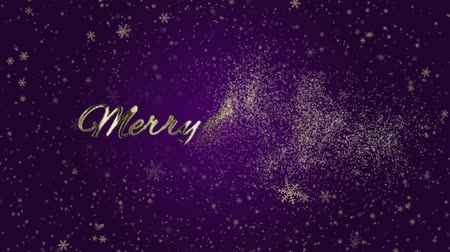 Bright and shining Christmas animations, Abstract particles and fireworks greeting card text with shiny black background for festivals,events,holidays,party,celebration