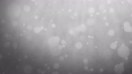 encanecido : Abstract silver gray background with floating particles. Seamlessly loopable animation. Stock Footage
