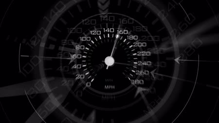 "velocímetro : An energetic speedometer design. Composite over your footage with the ""lightenâ€� blending mode."