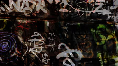 царапина : Composite this graffiti texture over your footage and experiment with different blending modes to give your footage an urban grunge style. Please see my large collection of film textures and effects for more clips like this.