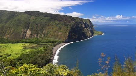 hawaii : Overlooking the beautiful Waipi'o Valley in Hawaii