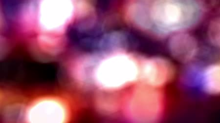 боке : A colorful abstract background made from out-of-focus lights of moving traffic in Times Square.