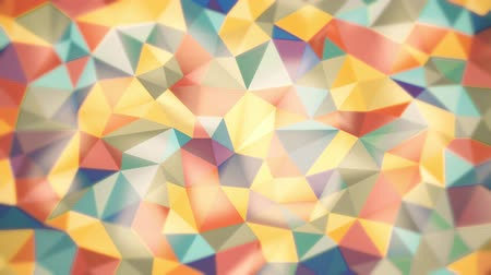 origami : light abstract background of triangles of different colors with soft edges