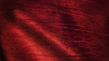 bez : Red silk fabric blowing in the wind. Seamless loop