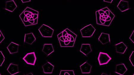 peyote : Looping kaleidoscope sequence. Abstract motion graphics background