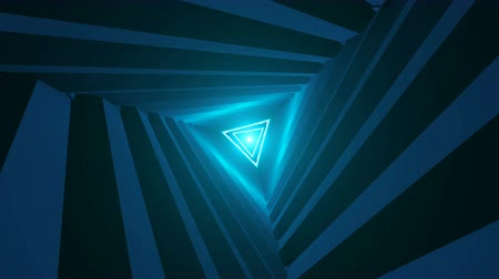 forma tridimensional : Triangle Future Space Tunnel. A Science Fiction Composition
