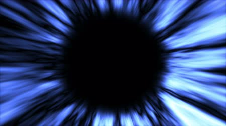 relativity : Abstract background with black hole. Space backdrop. Seamless loop Stock Footage