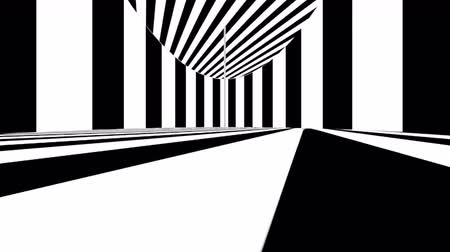 rastr : Abstract optical art. Black and white lines. Seamless loop. Dostupné videozáznamy