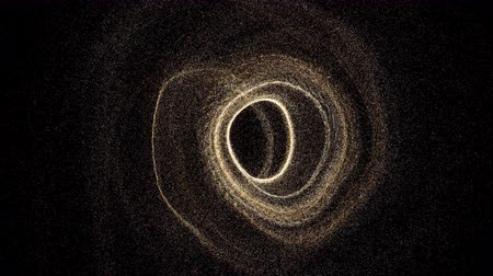speed tunnel : Futuristic black hole. Abstract space background. Digital 3d rendering backdrop