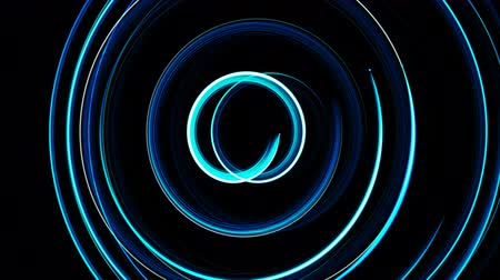 oval : Abstract spiral rotating glow lines, computer generated background, 3D rendering background.