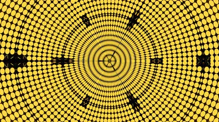 skarb : Abstract background with rows of many yellow turning coins, 3d rendering backdrop, computer generating