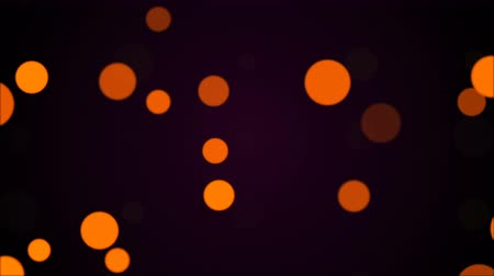 matiz : Bright glowing circular particles, computer generated abstract background, 3D rendering backdrop Stock Footage