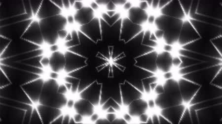 irradiar : Mosaic with fractal shining lights, 3d rendering computer generating backdrop