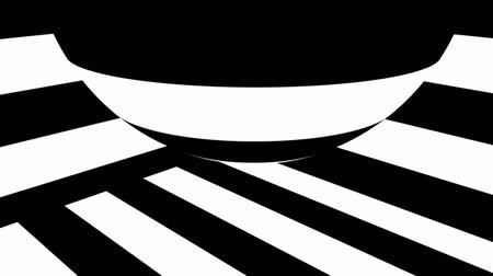 ziguezague : Black and white stripes. Computer generated abstract background, 3D rendering backdrop
