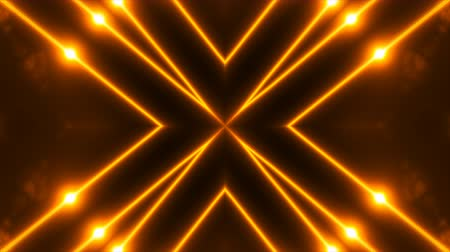 irradiar : Abstract gold fractal lights, 3d render backdrop, computer generating background