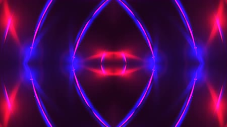 визуализация : Abstract purple fractal lights, 3d render backdrop, computer generating